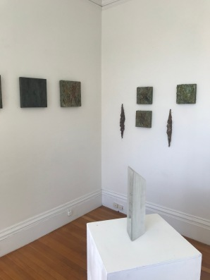 courtesy photo- installation view Deborah Brown art exhibit Jane Deering Gallery September 2020 (2)