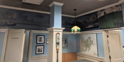 2020 Destino's interior art includes Sardoni murals and Sam Nigro painted oars_20201121_©c ryan (1)