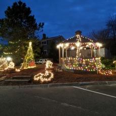 Cape Ann Motor Inn goes Grinch views day and night_2020 Nov 25th_Gloucester Mass. photo copyright © catherine ryan
