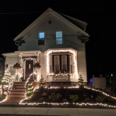 Warner street white lights_2020 Nov 19_Gloucester Mass. photo copyright catherine ryan