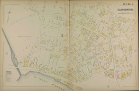 1884 Hopkins Map plate 1