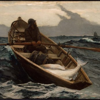 1885 MFA WINSLOW HOMER Fog Warning