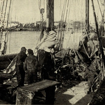 CLARENCE MANNING FALT photo_ illustrate his 1902 book poetry Wharf Fleet_Univ Ca (2)