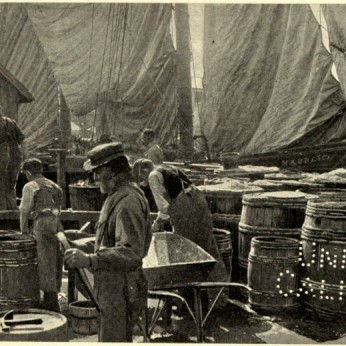 CLARENCE MANNING FALT photo_ illustrate his 1902 book poetry Wharf Fleet_Univ Ca (3)