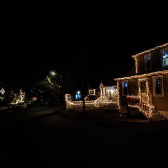 HARTZ BLOCK_2020 Dec 2_Christmas Lights Gloucester Massachusetts photo copyright C. Ryan