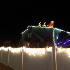 Santa Essex Avenue_2020 Dec 2_Christmas Lights Gloucester Massachusetts photo copyright C. Ryan