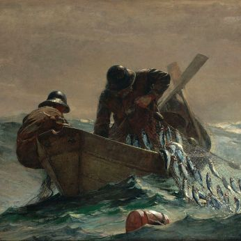 WINSLOW HOMER The Herring Net Art Institute of Chicago 1885
