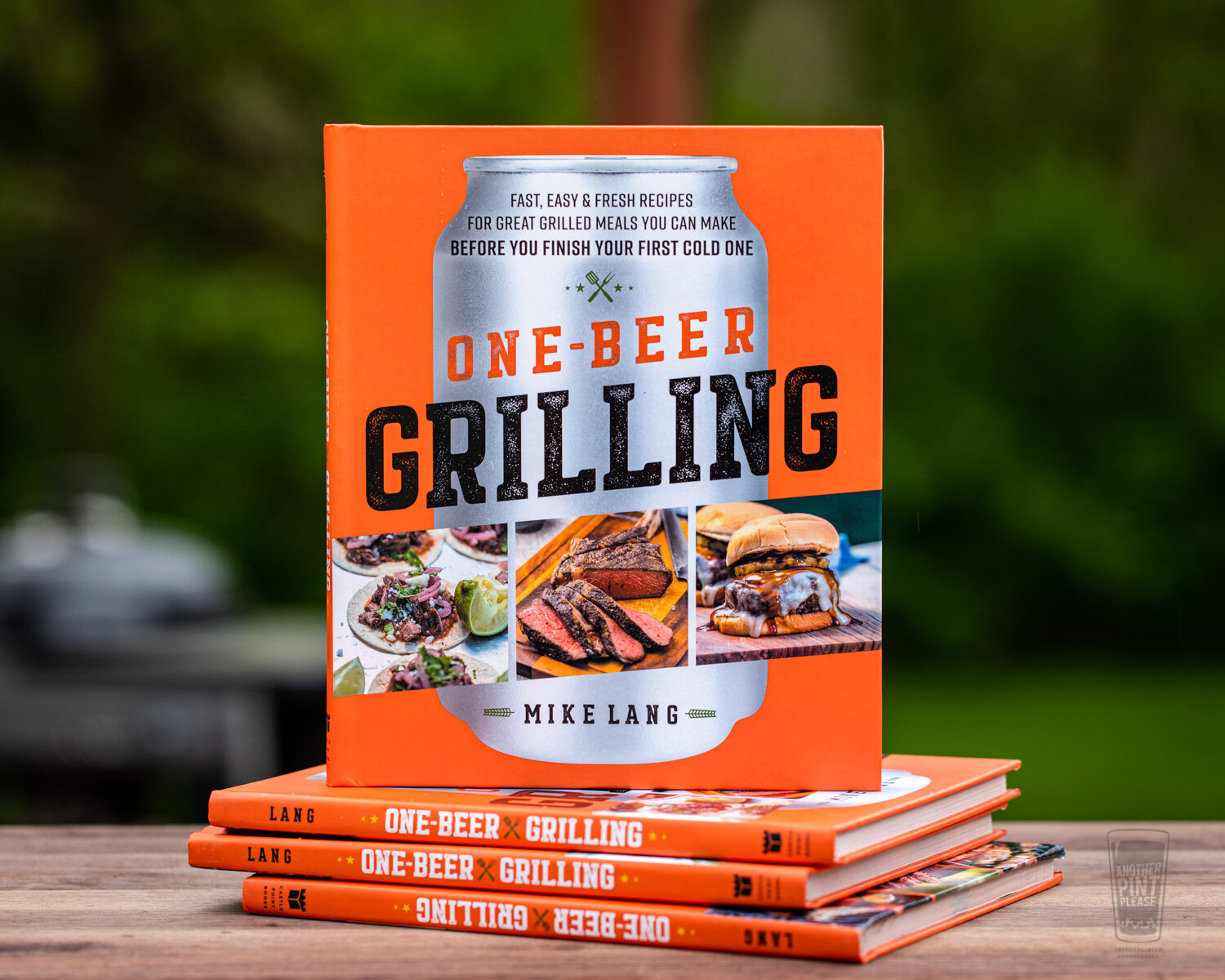 One-Beer Grilling by Mike Lang
